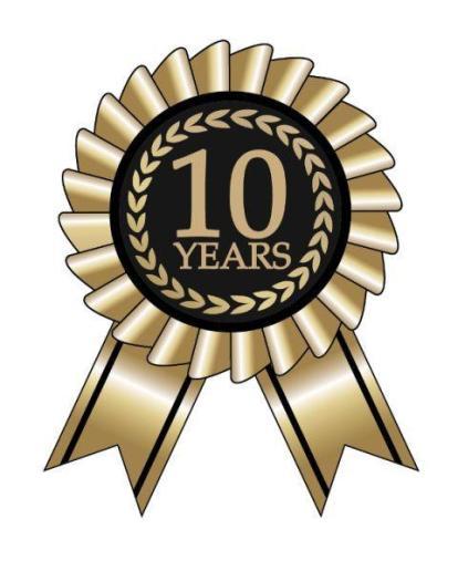10-Years Anniversary